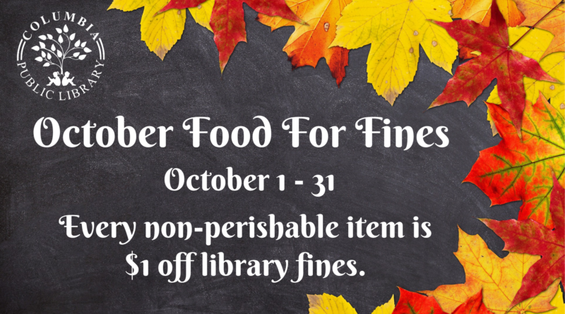 October Food For Fines (2)