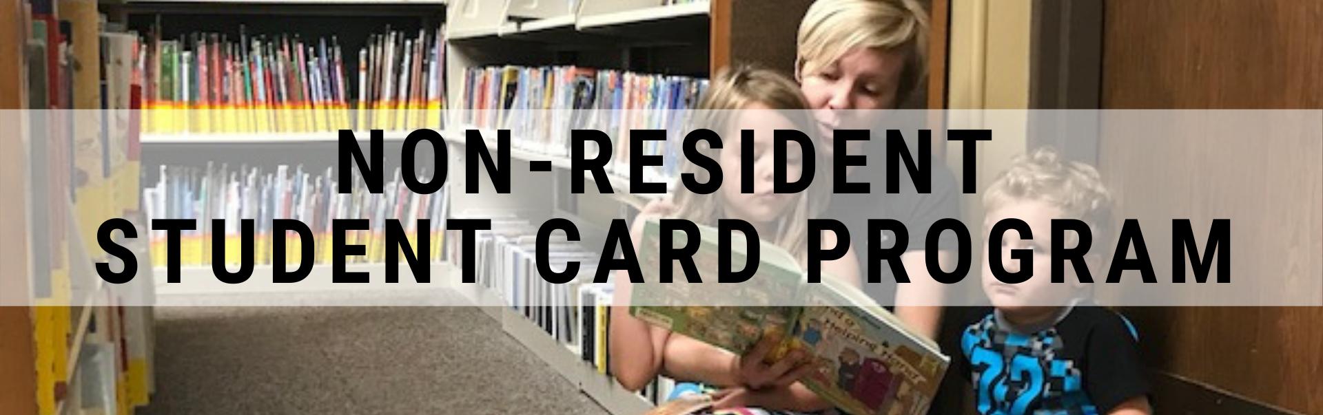 Non-resident Student Card Program